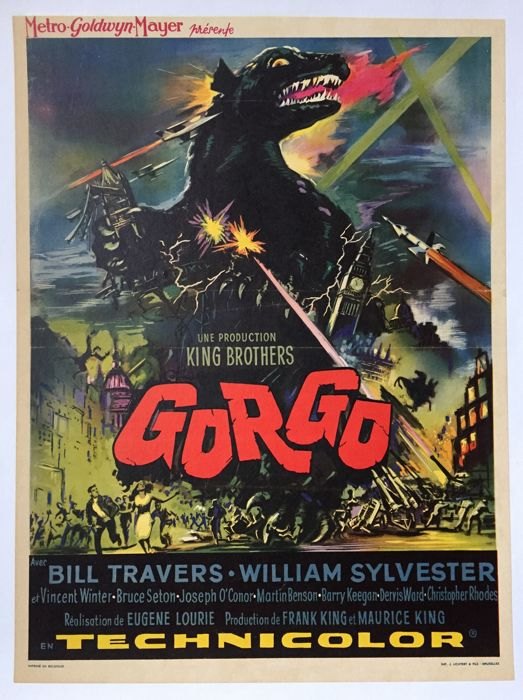 Anonymous - Gorgo (Eugene Lourie) - 1961