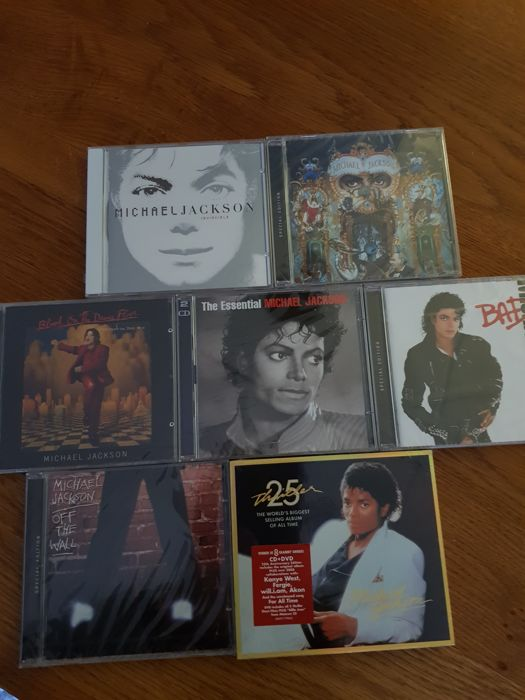 Michael Jackson special CD editions