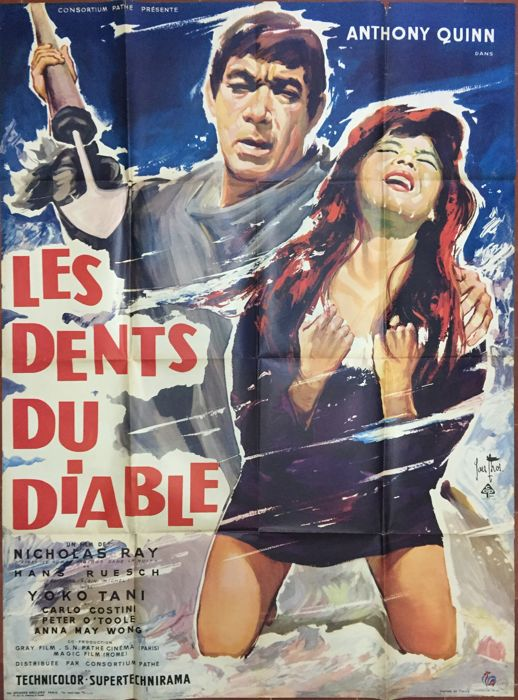 Yves Thos - Les Dents du diable / The Savage Innocent (Anthony Quinn) - 1960