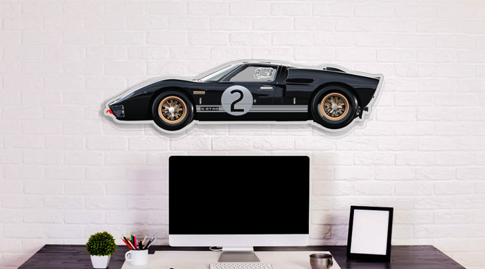 SL - Wall Scale Model Halmo Collection Ford GT40