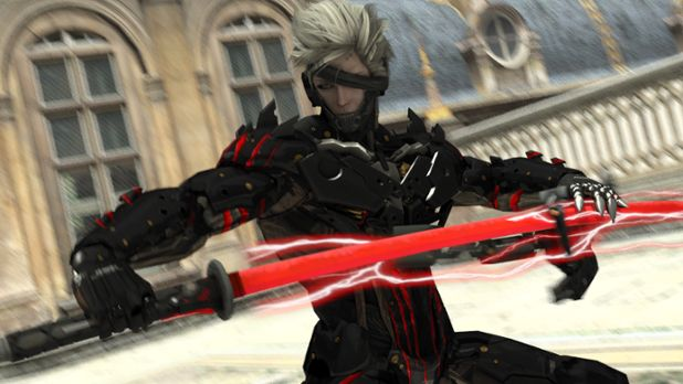 Fantastic Katana Of Metal Gear Rising Revengeance Raidens High