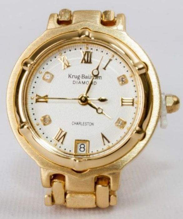 Krug-Baümen - CHARLSTON,4 DIAMONDS-5116DM-New - 5055284742646 - Unisex - 2018