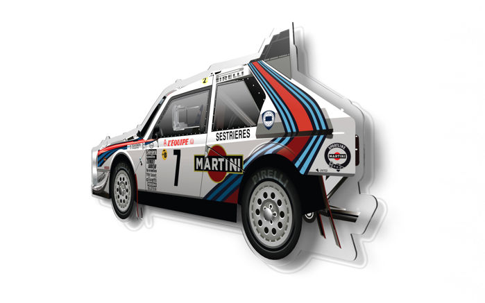 Dekorativt objekt - SL- Halmo Collection Lancia Delta S4 - 2018