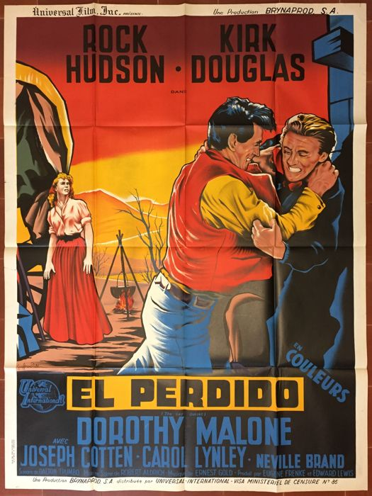 Guy Gerard Noel - El Perdido / The Last sunset (Rock Hudson, Kirk Douglas) - 1961