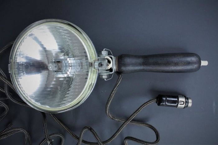 ZKW vintage spotlight with lighter connection (classic car type)