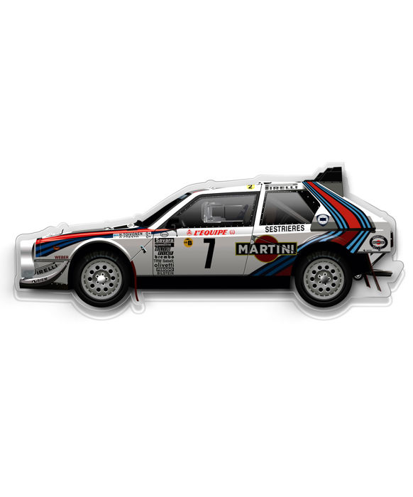 SL - Wall Scale Model Halmo Collection Lancia Delta S4