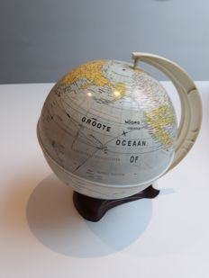 Globe from Western Germany, late fifties