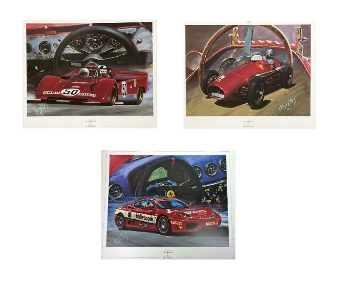 lithographs - Hessel Bes - 2000-2000 (3 items)