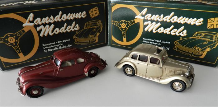 Lansdowne Models - 1947 MG Saloon Type YA and 1947 Bristol 400