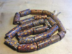 Old Venetian millefiori necklace - from Niger