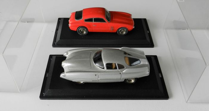 Provence Moulage Sports Cars - Scale 1/43 - 1955 Alfa Romeo Bat 9 and 1954 Maserati A6G Coupé