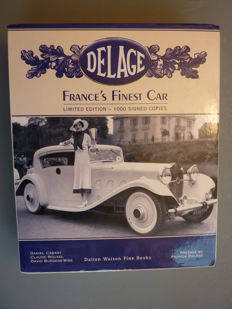 DELAGE , France's Finest Car - 2007