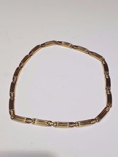 18 kt yellow gold necklace by Chimento - Total weight: 24.77 g