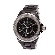 Chanel - Chanel J12 Diamond Ceramic 39 mm - J12 - Heren - 2000-2010
