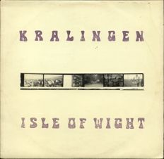Rare early 1970s festival recordings from Kralingen / Wight on vinyl album - With (5) photo strip !