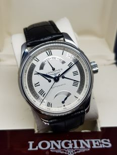 Longines - Master Collection Retrograde Power Reserve - L2.716.4 - Men - 2011-present