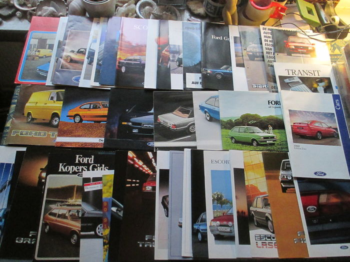 Brochures / Catalogi - Divers - 1997-1976 (40 items)