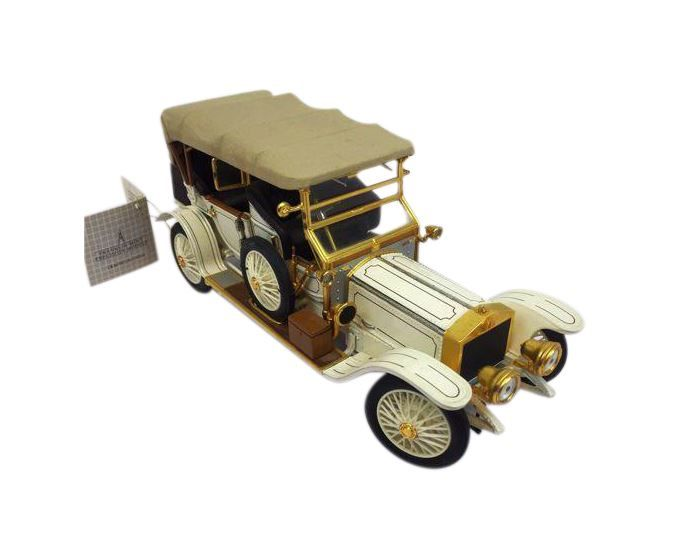 Franklin Mint 1911 Rolls-Royce Tourer Silver Ghost 1:24