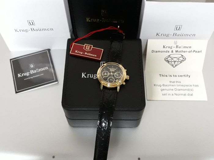 Krug-Baümen - Chrono Principle 150573DL - 8 Diamond - 1970 - Donna - 2011-presente