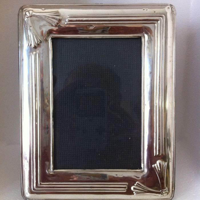 Photo Frame, Silver 925 Florence (Italy), second half of the 20th century