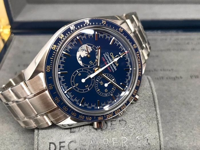 Omega Speedmaster Moonwatch Apollo Xvii Limited Edition 42 Mm