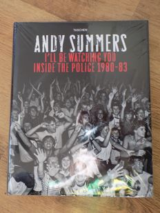 "I""LL Be Watching You "" Inside The Police "" 1980 - 83 Hardback Book By Andy Summers."