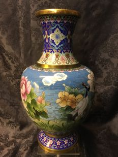 Cloisonné vase - China - 2nd half 20th century