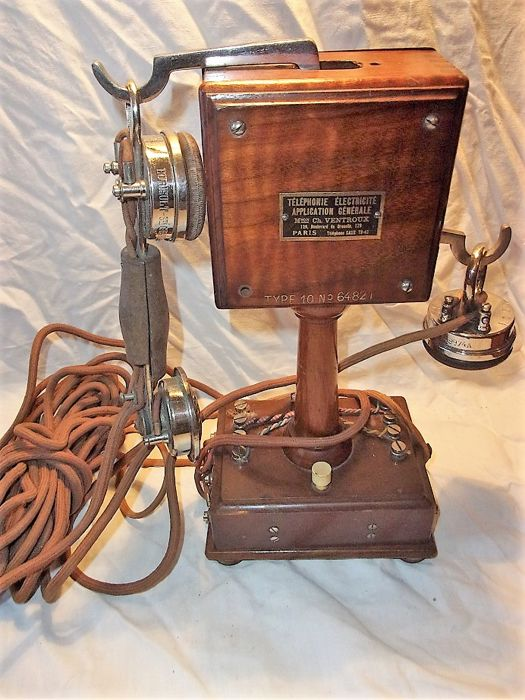 Old Eurieult phone type 10, 1900s/1910s