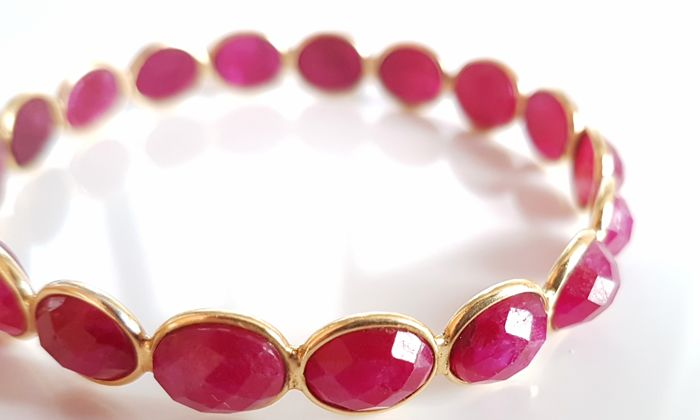 bangle burma khordipour antique wb bracelet bangles products m ruby