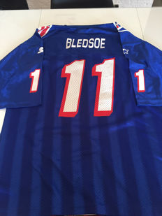 NFL Jersey American Football Drew Bledsoe #11 Rookie Season New England Patriots
