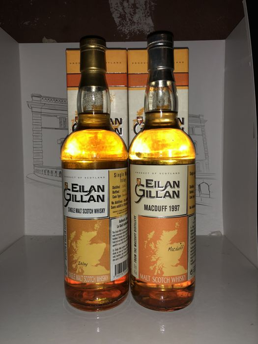 2 bottles -  Macduff 1997 Eilan Gillan Single Cask & Eilan Gillan Single Cask Islay