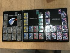 Collection of 36 Tristar petrol lighters, various kinds