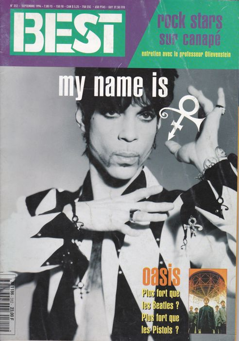 31 Music magazines with Prince on fr cvr + art +pict  and posters