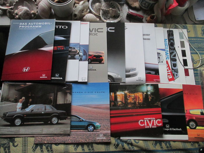 Brochures / Catalogi - Honda - 1974-1999 (16 items)