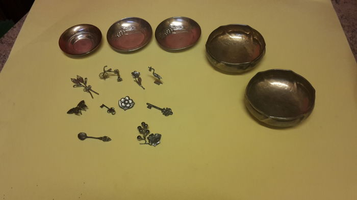 Lot of Silver Items Italy, second half of the 20th century