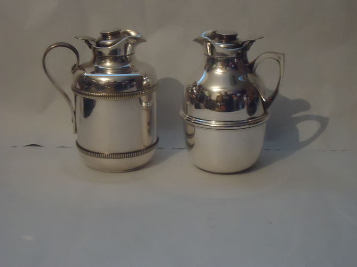 2 (two) Sheffield thermos carafe - Officine Standard, Cusano Milanino (MI), Italy - 1960s