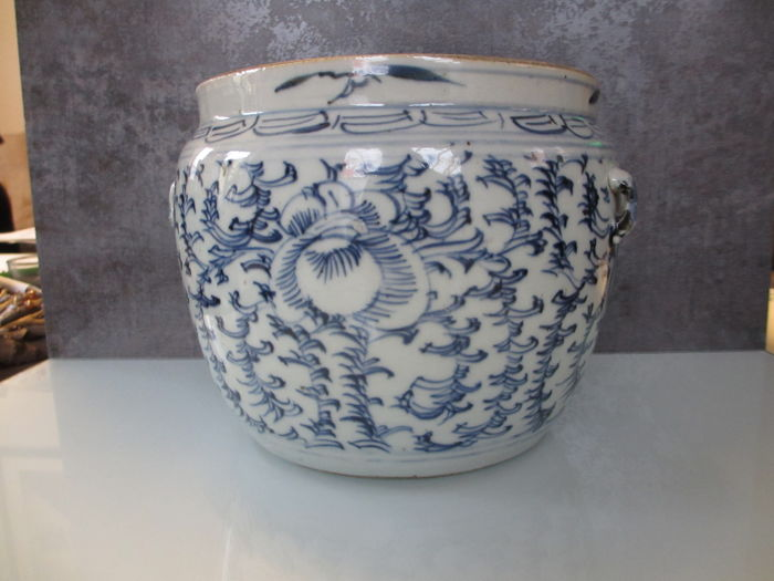 Large jar - China - end of the 19th century