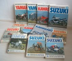 Various Motor - Engineering books (12) - 1977/1995