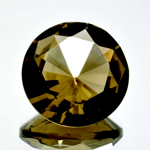 Citrine/Smoky quartz - 11.96 ct - No Reserve Price