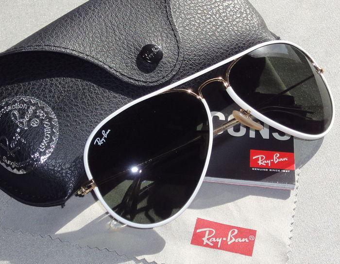 1256e9d5ae Ray-Ban - RB 3025-J-M AVIATOR FULL COLOR 146/32 58-14 2N R ...
