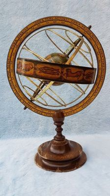 Armillary sphere. Second half of the 20th century