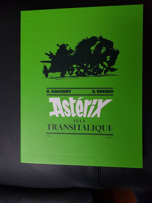 Asterix T37 - La Transitalique + 12x ex-libris - C + coffret - TT (2017) - First edition