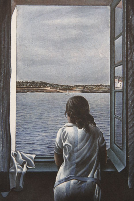 Salvador Dalí (after)  - Woman at a Window