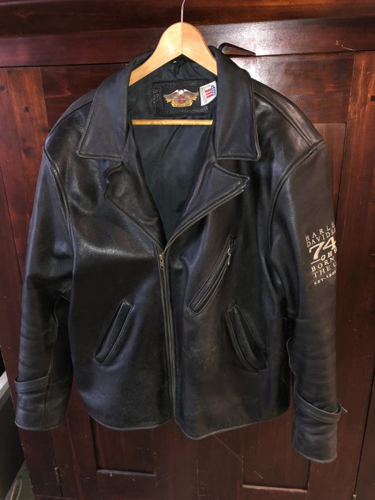 Harley Davidson leather jacket Catawiki