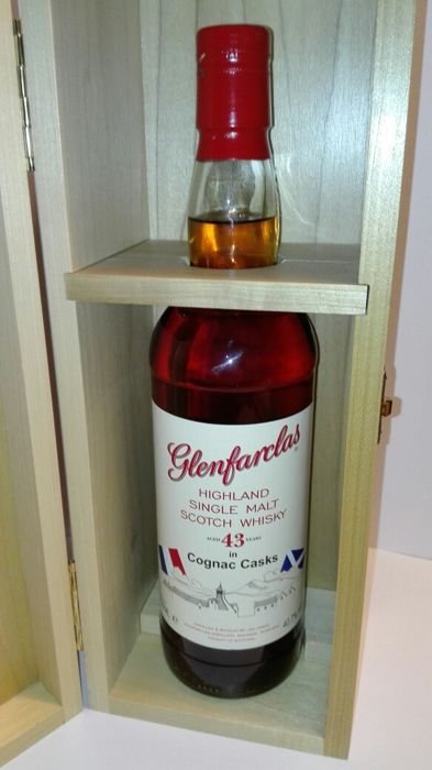 Glenfarclas Cognac Cask 43 years old