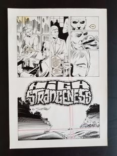 Scott Reed - Original Art Page - Page 5 - High Strangeness (2004)