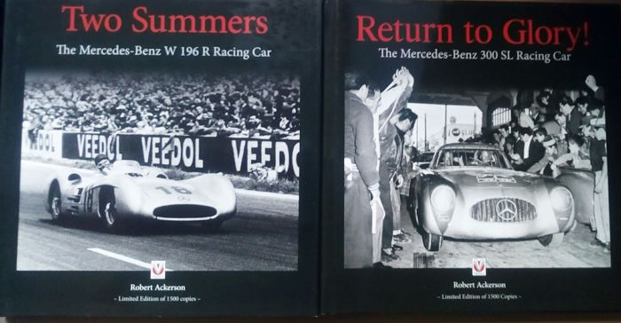 2 mercedes benz books two summers the mercedes benz w 196 for Mercedes benz books