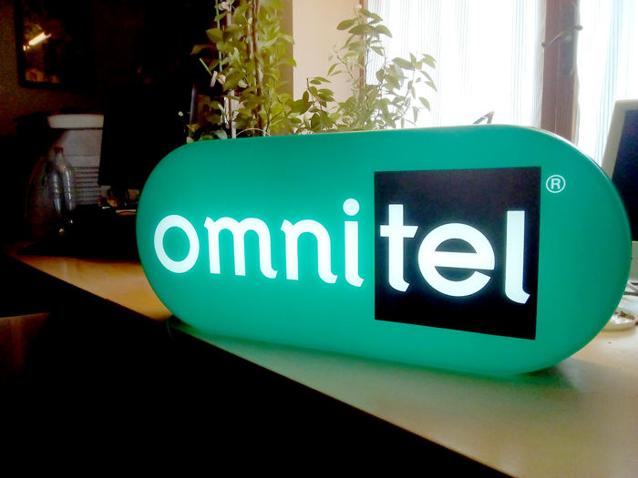 OMINTEL Lighted Sign - 1999