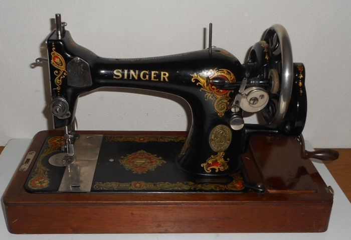 Singer 40K Sewing Machine 40 With Wooden Cover Catawiki Impressive 1920 Sewing Machine