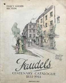 Catalogues; Faudels centenary catalogue (1833-1933) - 1933